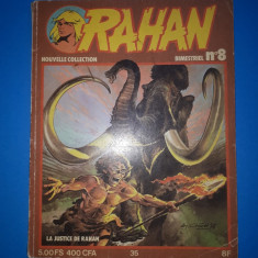 RAHAN Nr 8 - an 1979 - Reviste benzi desenate