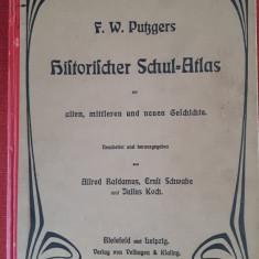 Atlas istoric - HISTORISCHER SCHUL  - ATLAS - F. W. PUBGERS - 1913