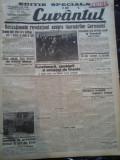 Ziare vechi - Cuvantul - Nr. 2833, 14 mar 1933, 4 pag, Editie Speciala
