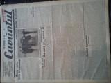 Ziare vechi - Cuvantul - Nr. 2844, 25 mar 1933, 10 pag, Nae Ionescu, M. Eliade
