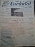 Ziare vechi - Cuvantul - Nr. 2831, 12 mar 1933, 8 pag, Nae Ionescu, Perpessicius, Nae Ionescu