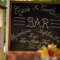 Rama tabla scris BAR