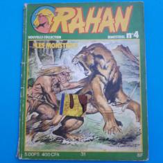 RAHAN Nr 4 - an 1978 - putin uzata - Reviste benzi desenate
