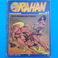 RAHAN Nr 1 - an 1978 - uzata - Reviste benzi desenate