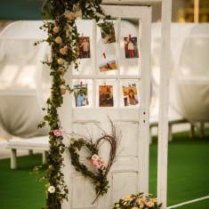 Vand usa decorativa nunti