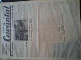 Ziare vechi - Cuvantul - Nr. 2814, 23 feb 1933, 8 pag, Nae Ionescu, M. Eliade