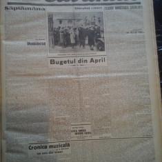 Ziare vechi - Cuvantul - Nr. 2776, 16 ian 1933, 8 pag, Racoveanu, Onicescu
