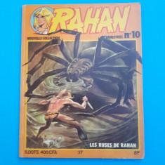 RAHAN Nr 10 - an 1979 - Reviste benzi desenate