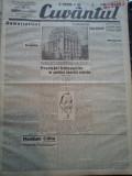 Ziare vechi - Cuvantul - Nr. 2817, 26 feb 1933, 8 pag, Nae Ionescu, M. Eliade