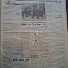 Ziare vechi - Cuvantul - Nr. 2836, 17 mar 1933, 8 p., Perpessicius, M. Sebastian