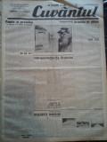 Ziare vechi - Cuvantul - Nr. 2800, 9 feb 1933, 8 pag, Nae Ionescu, M. Sebastian, Nae Ionescu