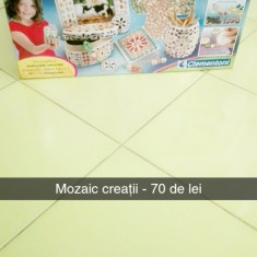 Set de creații Mozaic - Jocuri arta si creatie Clementoni