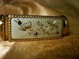 Suport ruj, oglinda, Belle Epoque, Franta, colectie, vintage