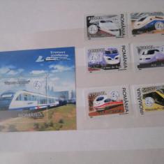 2004/2018 LP 1631 TRENURI MODERNE - Timbre Romania, Nestampilat