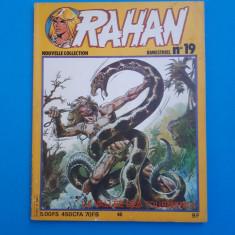 RAHAN Nr 19 - an 1981 - Reviste benzi desenate