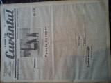 Ziare vechi - Cuvantul - Nr. 2797, 6 feb 1933, 8 pag, Titu Devechi, Onicescu