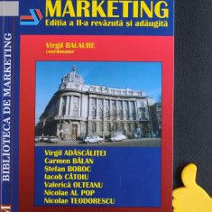 Marketing Virgil Balaure ed II - Carte Marketing