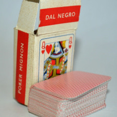 Pachet dublu de carti de joc POKER MIGNON - DAL NEGRO TREVISO
