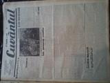 Ziare vechi - Cuvantul - Nr. 2846, 27 mar 1933, 8 pag, Titu Devechi, Racoveanu