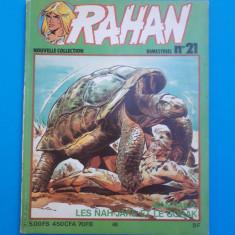 RAHAN Nr 21 - an 1981 - Reviste benzi desenate