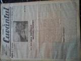 Ziare vechi - Cuvantul - Nr. 2802, 11 feb 1933, 8 pag, Nae Ionescu, M. Eliade, Nae Ionescu