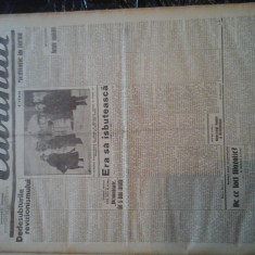 Ziare vechi - Cuvantul - Nr. 2774, 14 ian 1933, 8 pag, Mihail Sebastian