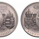 2000 forinti 2017, nichel 66, 7 grame, 150 de ani de la dualismul Austro-UNgar !, Europa