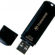 Stick USB Transcend JetFlash 700, 64GB, USB 3.0 (Negru)