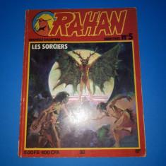 RAHAN Nr 5 - an 1979 - Reviste benzi desenate