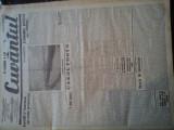 Ziare vechi - Cuvantul - Nr. 2780, 20 ian 1933, 8 pag, Perpessicius, Racoveanu