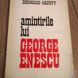 Amintirile lui george enescu Rd
