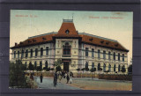 SALUTARI DIN TARGU JIU GIMNAZIUL TUDOR VLADIMIRESCU CIRCULATA 1915, Printata