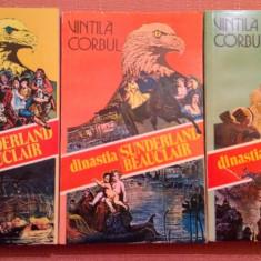 Dinastia Sunderland-Beauclair (Idolii de aur). 3 Volume - Vintila Corbul - Roman istoric, An: 1993