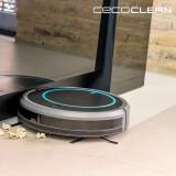 Robot Aspirator cu Mop și Rezervor de Lichide Cecoclean Wet 5048 0,3 L 11,1 V Gri Negru
