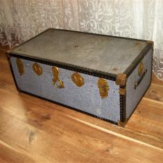 Cufar valiza colectie, solid, vintage