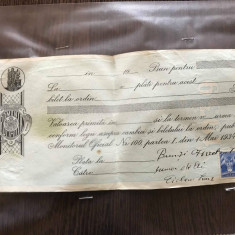 Bilete la ordin 1936-39