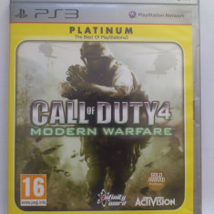 Joc Call of Duty 4 Modern Warfare Playstation 3 PS3 - Jocuri PS3 Activision