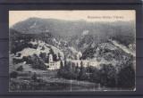 OLTENIA  VALCEA   MANASTIREA   BISTRITA  CIRCULATA 1908, Brezoi, Printata