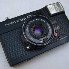 Aparat fotografic marca KONICA C 35 EF P cu obiectiv Hexanon - Aparat de Colectie