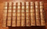 Lot carti vechi L'Annee Apostolique secol 18 colectie bibliofilie rara, in piele