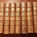 Lot carti vechi L'Annee Apostolique secol 18 colectie bibliofilie rara, in piele - Carte veche