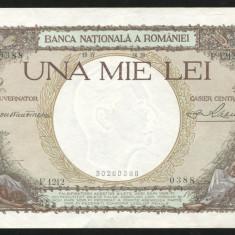 Y455 ROMANIA 1000 LEI 1939 aUNC - Bancnota romaneasca