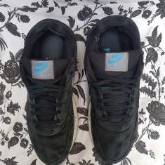 Nike Air Max originali, piele naturala, nr.44-28 cm. - Adidasi barbati Nike, Culoare: Negru, Piele intoarsa