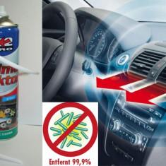 Spray Curatare Aer Conditionat Auto Dezinfectie Clima Spuma Activa cu Furtun - Cosmetice Auto