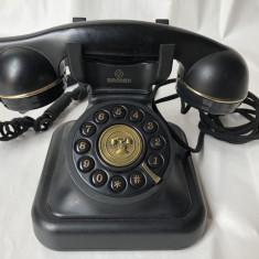 Telefon fix, vechi, stil vintage, Brondi