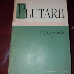 PLUTARH VIETI PARALELE VOL I - Carte Istorie