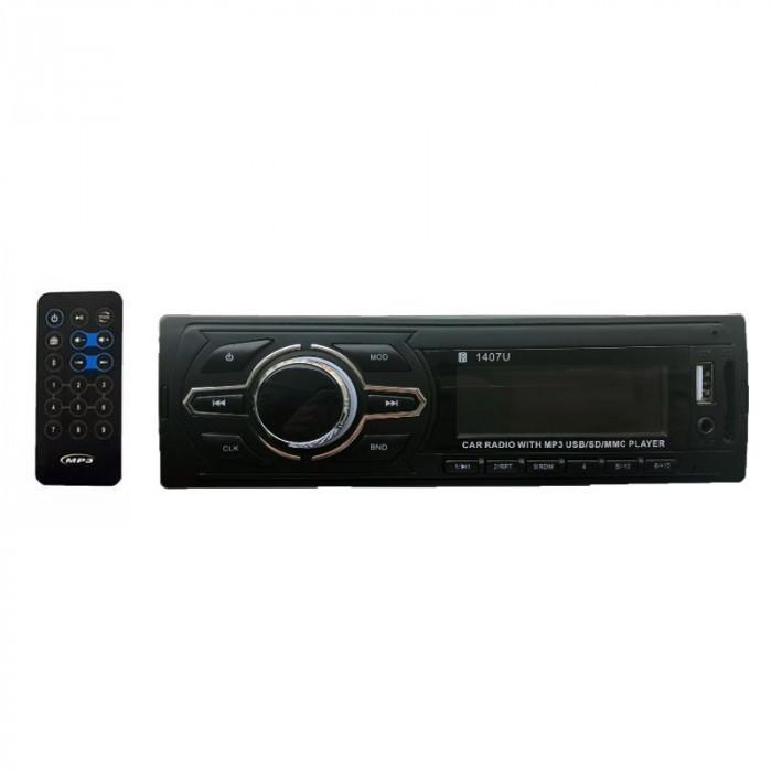 Radio Player Auto Votops 1407U, FM, MP3, SD, USB, AUX, 4x50W, 2xRCA