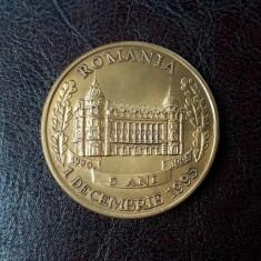 Medalie BCR - Banca comerciala romana - aniversara