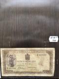 Bancnota romaneasca veche de colectie cinci sute lei 1940-42