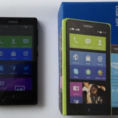 Telefon mobil Nokia X dual sim - ca nou, Negru, Neblocat